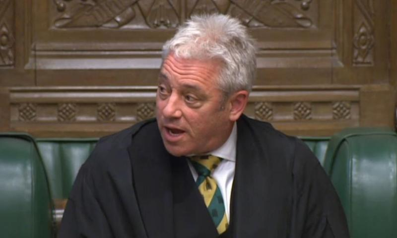 John Bercow is to stand down as Speaker of the Commons next summer.