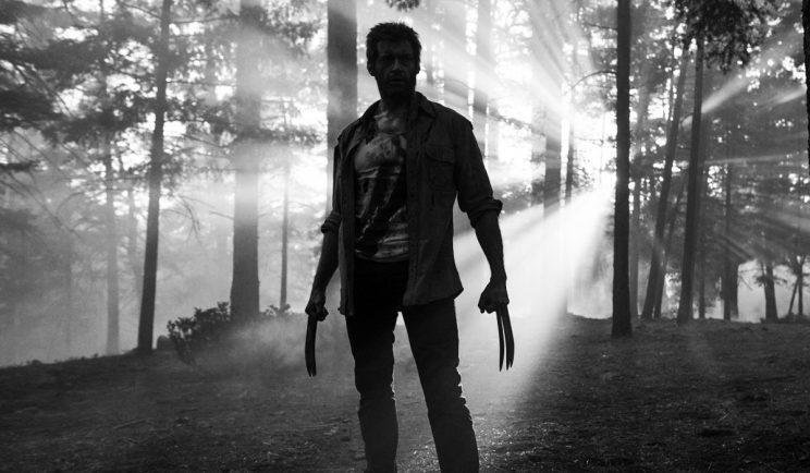 Hugh Jackman as Logan in the new black and white Logan Noir - Credit: 20th Century Fox