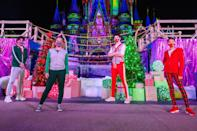 "<p>Disney's <em>ZOMBIES 2</em> stars Pearce Joza, Ariel Martin, Milo Manheim and Kylee Russell compete in a high-stakes, holiday adventure inside Magic Kingdom Park at Walt Disney World Resort in Florida as part of Disney Channel's first-ever ""Disney Holiday Magic Quest"" special, airing Dec. 4 at 8 p.m.</p>"