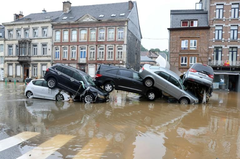 Belgium was also badly hit, with at least 15 dead