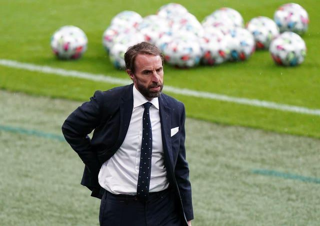 Gareth Southgate was criticised for his stance on the vaccination program