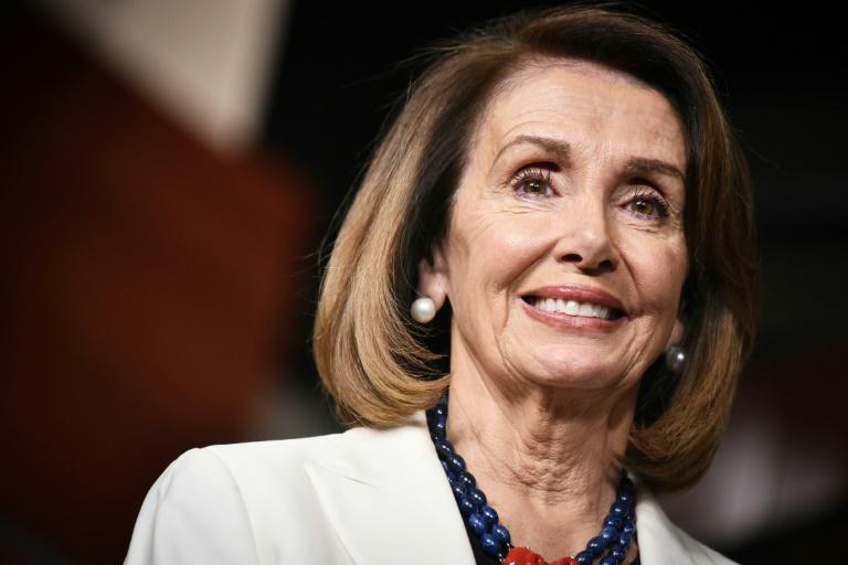 Nancy Pelosi was first elected to Congress in 1987 in a special election in California (AFP Photo/MANDEL NGAN)