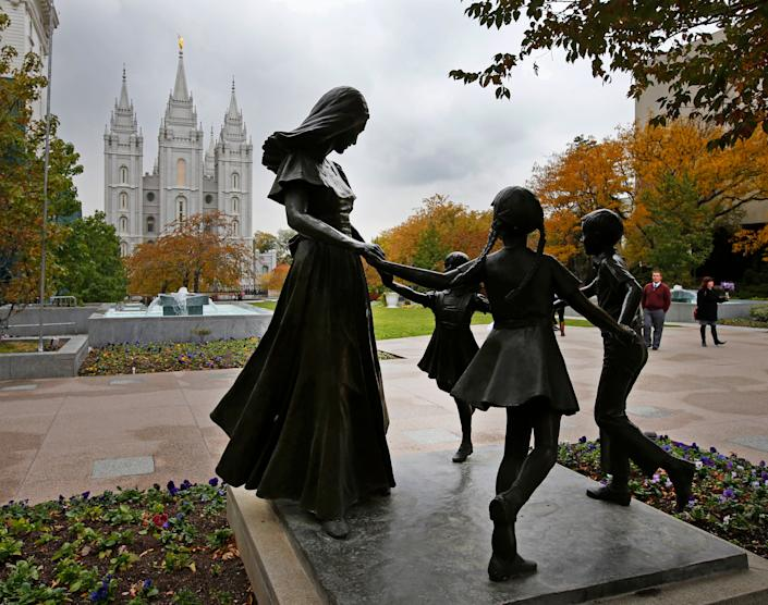 The Church of Jesus Christ of Latter-Day Saints is headquartered in Salt Lake City, Utah. (Photo: George Frey via Getty Images)