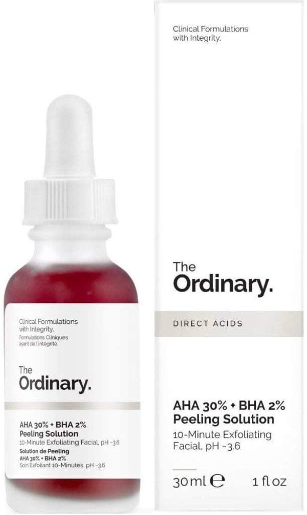 The Ordinary Peeling Solution 30ml AHA 30% + BHA 2% [Photo via Amazon]