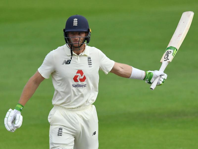 Jos Buttler helped England to victory in the first Test with a crucial innings: POOL/AFP via Getty Images