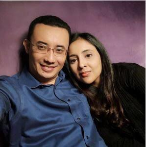 Police have arrested Samirah Muzaffar (right) to assist in the investigation into her husband Nazrin Hassan's death. — Picture via Facebook/Nazrin Hassan