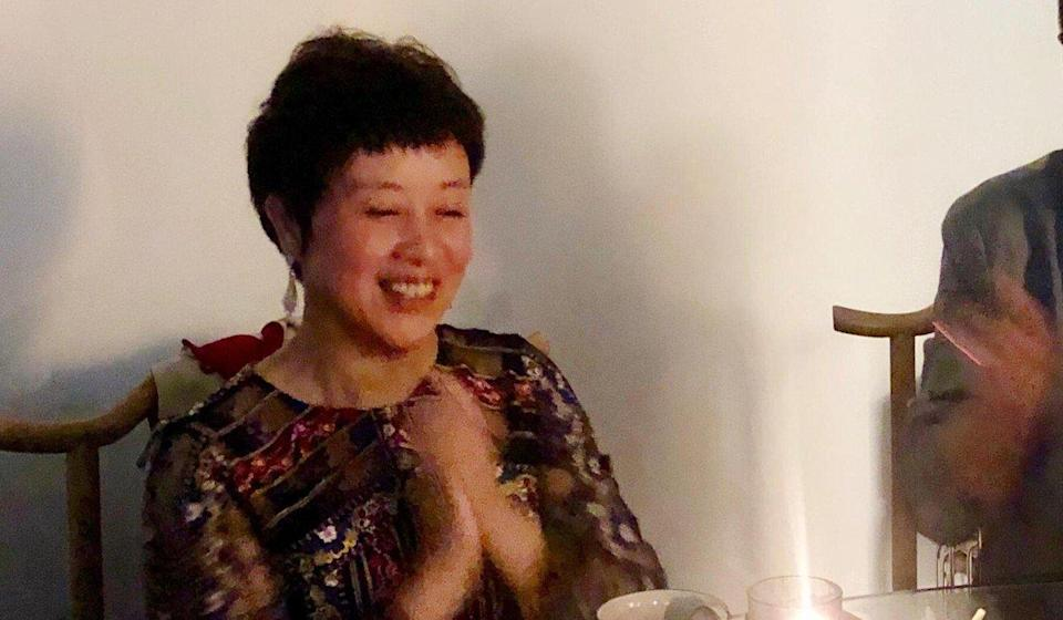 Luo Wenjun in 2019, two months before her arrest on charges of fraud. Photo: Handout