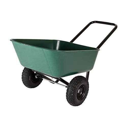 """<p><strong>Garden Star</strong></p><p>amazon.com</p><p><strong>$86.62</strong></p><p><a href=""""https://www.amazon.com/dp/B0743WZY9M?tag=syn-yahoo-20&ascsubtag=%5Bartid%7C10050.g.32906783%5Bsrc%7Cyahoo-us"""" rel=""""nofollow noopener"""" target=""""_blank"""" data-ylk=""""slk:Shop Now"""" class=""""link rapid-noclick-resp"""">Shop Now</a></p><p>This affordable wheelbarrow doesn't skimp on quality. It's easy to maneuver with two air-filled tires and a loop handle. At just 20 lbs., it weighs significantly less than most models on the market, but can carry up to 300 lbs. for easy heavy-lifting around the property.</p>"""