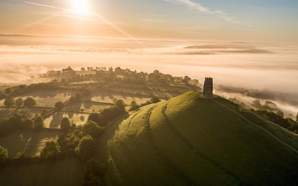 'The Somerset market town has attracted the devotional since the dawn of time'  - Getty