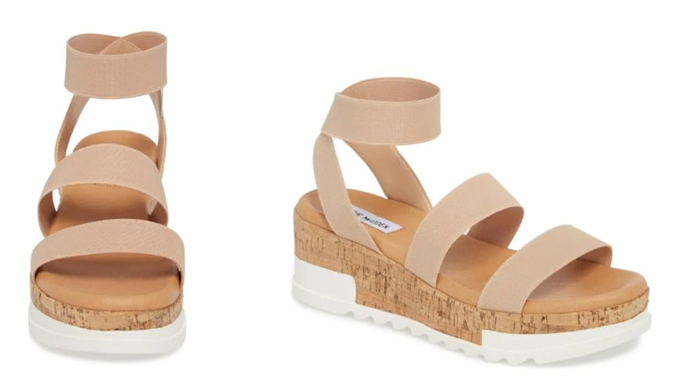 Steve Madden's Bandi Platform Wedge Sandals - Nordstrom, $50 (originally 70)