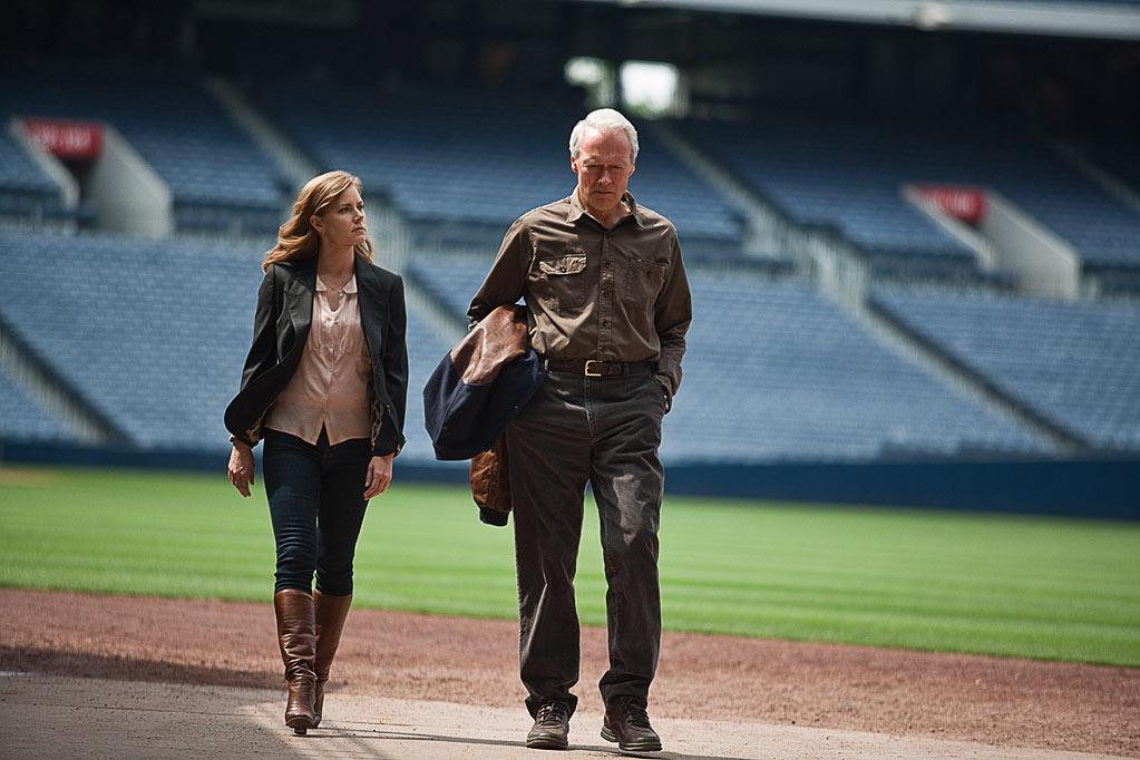 """"""" Trouble With the Curve """" Release date: September 21 Starring: Clint Eastwood, Justin Timberlake and Amy Adams"""