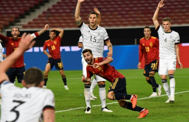 Gaya gives Spain last-gasp draw with Germany