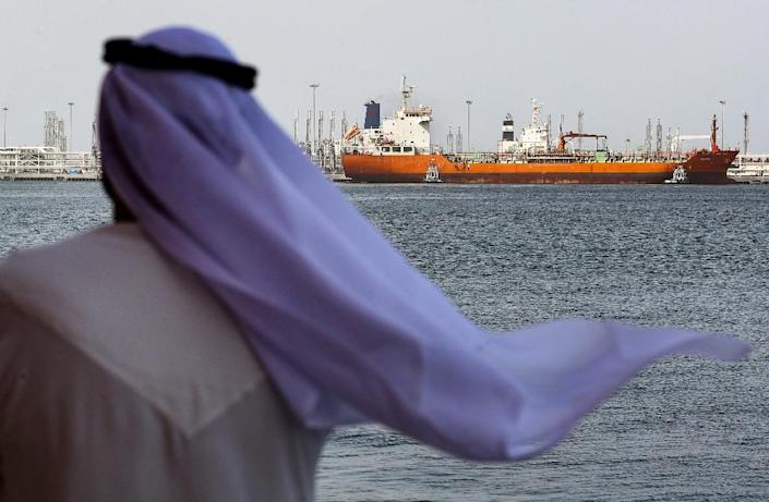 """Mysterious """"sabotage attacks"""" on ships near the Emirati port of Fujairah sparked heightened tensions in the Gulf (AFP Photo/KARIM SAHIB)"""