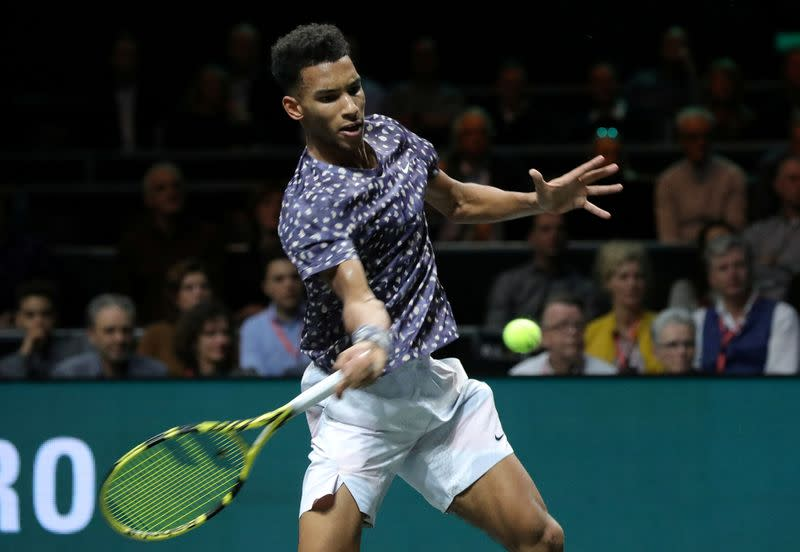 Auger-Aliassime signs up for new UTS league
