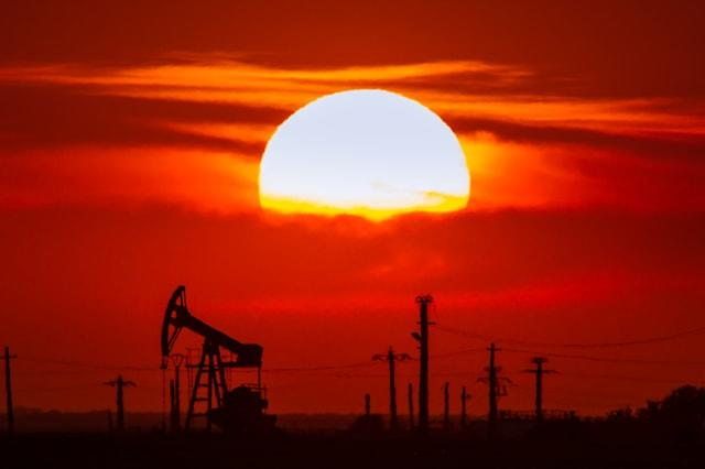oil and gas well profiled on...