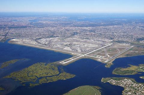 JFK airport from the air - Credit: Adobe