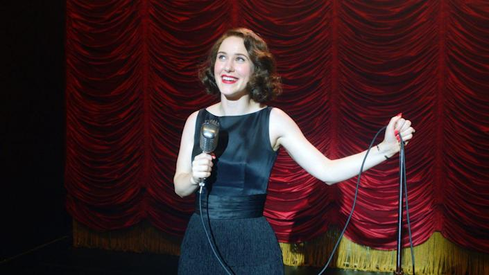 """<p>Of the many reasons to love <em><a href=""""http://www.townandcountrymag.com/leisure/arts-and-culture/a30142012/the-marvelous-mrs-maisel-season-4/"""" rel=""""nofollow noopener"""" target=""""_blank"""" data-ylk=""""slk:The Marvelous Mrs. Maisel"""" class=""""link rapid-noclick-resp"""">The Marvelous Mrs. Maisel</a></em>—the humor, the snappy dialogue, the complicated, but charming, characters—Midge Maisel's eternally show-stopping looks rank high.</p>"""