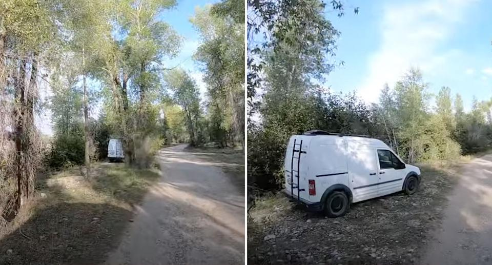 YouTubers found footage of what they believe to be Gabby Petito's van, near the area where authorities found a body. Source: Red White & Bethune