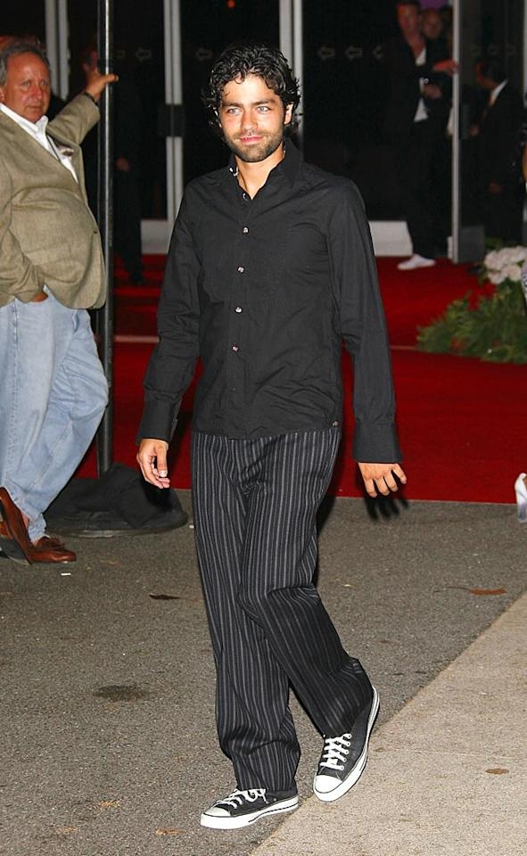 "We're not feeling Adrian Grenier's getup. Couldn't he have at least ironed his shirt - or had someone else do it for him? Jean Baptiste Lacroix/<a href=""http://www.wireimage.com"" target=""new"">WireImage.com</a> - July 22, 2007"