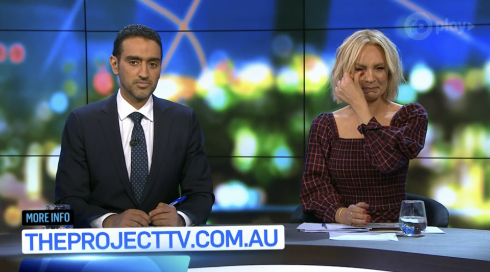 The Project hosts Carrie Bickmore and Waleed Aly