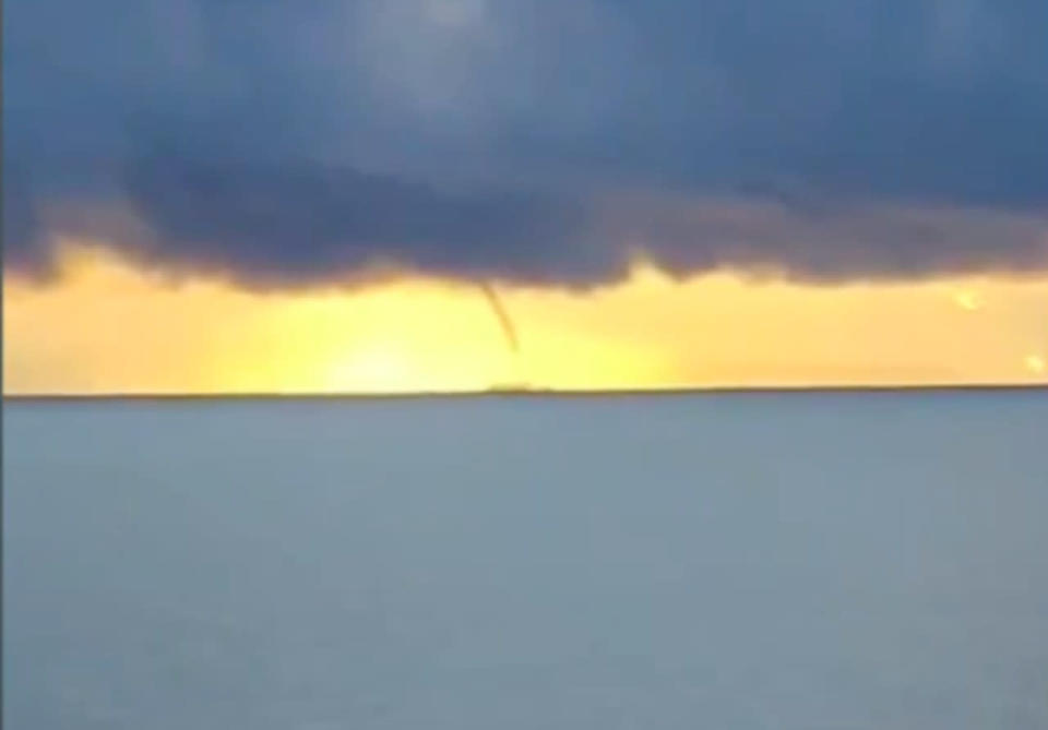 Three tornadoes confirmed off the B.C. coast, a rarity for the province