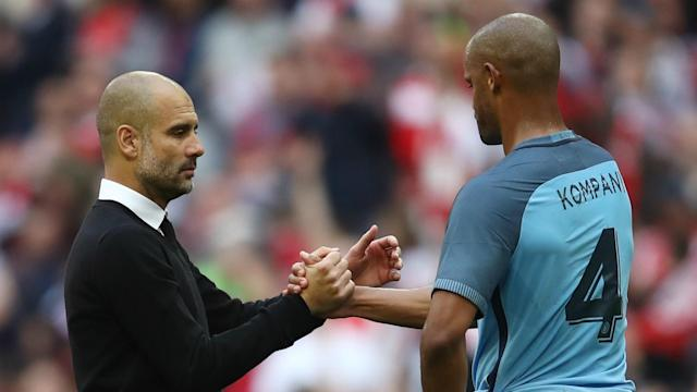 After Vincent Kompany's departure from Manchester City, Pep Guardiola is hopeful that the Citizens will bring in another centre-half.
