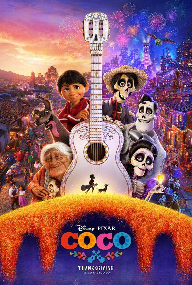 """<p>Although technically not Halloween, this sweet Pixar film takes place during Dia De Los Muertos and follows a young boy Miguel who hopes to become a musician against his family's wishes.</p><p><a class=""""link rapid-noclick-resp"""" href=""""https://go.redirectingat.com?id=74968X1596630&url=https%3A%2F%2Fwww.disneyplus.com%2Fmovies%2Fcoco%2Fdb9orsI5O4gC&sref=https%3A%2F%2Fwww.seventeen.com%2Fcelebrity%2Fmovies-tv%2Fg29354714%2Fnon-scary-halloween-movies%2F"""" rel=""""nofollow noopener"""" target=""""_blank"""" data-ylk=""""slk:Watch Now"""">Watch Now</a></p>"""