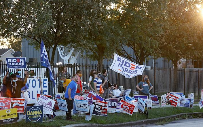 Democrats in Texas look set to be disappointed again - EPA