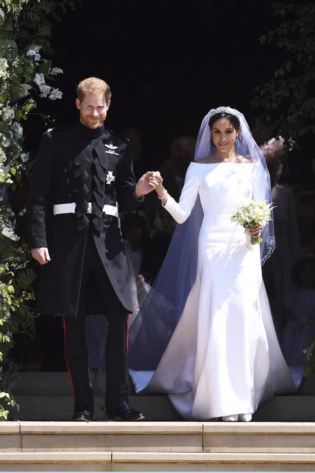 Meghan Markle and Prince Harry Previously Unseen Wedding Photos