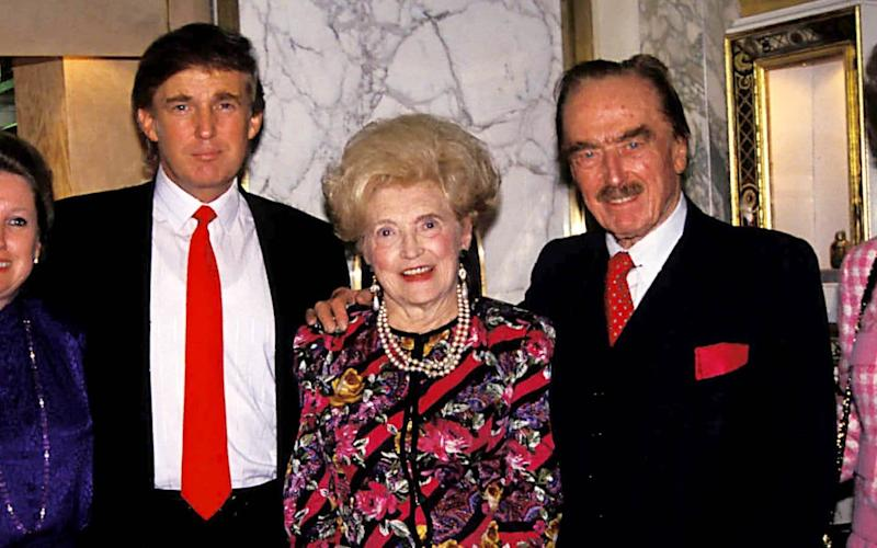 Donald Trump with his parents, Fred Sr and Mary Anne - Judie Burstein/Globe Photos/Shutterstock/ Shutterstock