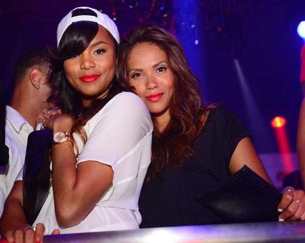 Letoya Luckett and Lesley-Ann Brandt