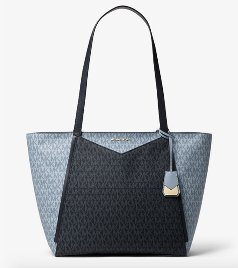 Whitney large logo tote bag, S$519. PHOTO: Michael Kors