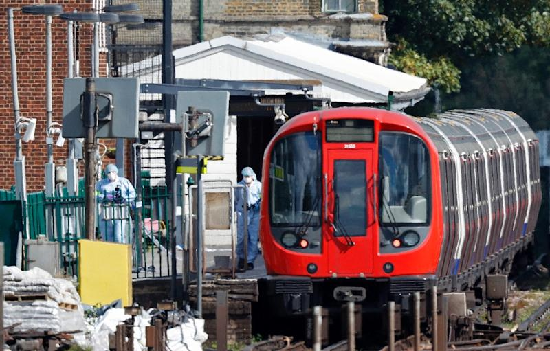 The bomb partially exploded in a London Underground train while at Parsons Green tube station in west London on September 15 last year