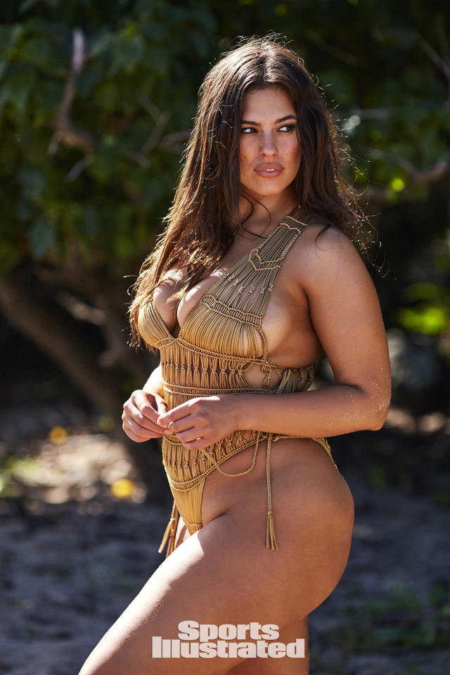 "<p>Ashley Graham was photographed by Josie Clough in Nevis. Swimsuit by <a href=""http://www.indahclothing.com"" rel=""nofollow noopener"" target=""_blank"" data-ylk=""slk:Indah Clothing"" class=""link rapid-noclick-resp"">Indah Clothing</a>.</p>"