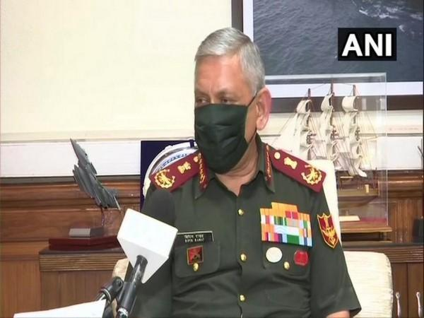 Chief of Defence Staff General Bipin Rawat speaking to ANI in New Delhi.(Photo/ANI)