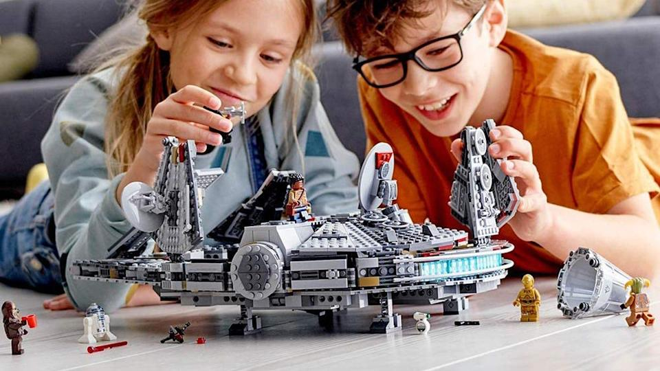 This Lego Star Wars set has every piece you need to bring the Millennium Falcon to life in your home.
