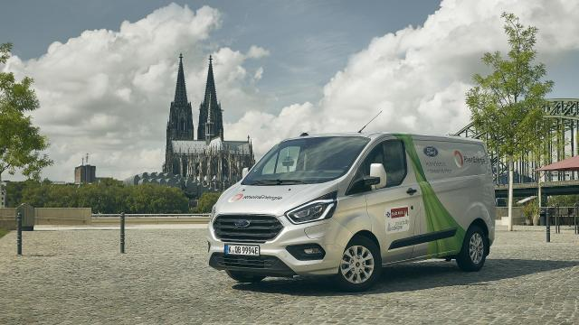 Ford Transit PHEV Cologne trial