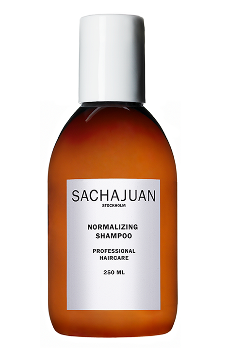 """<p><a rel=""""nofollow"""" href=""""https://www.feelunique.com/p/Sachajuan-Normalizing-Shampoo-250ml?gclid=EAIaIQobChMImN6YibPE3QIV7rztCh26RQp7EAAYAyAAEgIbq_D_BwE&gclsrc=aw.ds"""">Shop now</a><strong> </strong>Feelunique.com, £20<br></p><p><strong>Grease-busting strength: 5.5/10</strong></p><p>In case you couldn't guess from the label, Sachajuan's formula has been designed to 'normalize' hair. Which is just a fancy way of saying it cleanses any oil or dirt from the scalp and roots, whilst also soothing dryness and sensitivity. The formula contains salicylic acid which is able to dissolve dead cells and combat dandruff, whilst rosemary oil and menthol work to calm and soothe. </p><p>The balanced formula means it's safe to use 'often', and won't leave your hair feeling stripped or straw-like.</p>"""