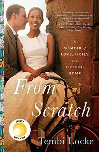 """<p><strong>Simon & Schuster</strong></p><p>amazon.com</p><p><strong>$15.55</strong></p><p><a href=""""https://www.amazon.com/dp/1501187651?tag=syn-yahoo-20&ascsubtag=%5Bartid%7C10072.g.32908707%5Bsrc%7Cyahoo-us"""" rel=""""nofollow noopener"""" target=""""_blank"""" data-ylk=""""slk:Shop Now"""" class=""""link rapid-noclick-resp"""">Shop Now</a></p><p>In this tear-jerker of a memoir, Tembi Locke—an actress who has appeared in <em>The Mentalist</em>, <em>Castle</em> and <em>Bones</em>—recalls the defining relationship of her life. While she was studying abroad in Florence, Locke met Saro, a Sicilian chef, and fell in love almost instantly. <em><a href=""""https://www.amazon.com/dp/1501187651?tag=syn-yahoo-20&ascsubtag=%5Bartid%7C10072.g.32908707%5Bsrc%7Cyahoo-us"""" rel=""""nofollow noopener"""" target=""""_blank"""" data-ylk=""""slk:From Scratch"""" class=""""link rapid-noclick-resp"""">From Scratch</a></em> is being adapted into a <a href=""""https://variety.com/2019/tv/news/zoe-saldana-reese-witherspoon-from-scratch-netflix-tembi-locke-1203395696/"""" rel=""""nofollow noopener"""" target=""""_blank"""" data-ylk=""""slk:movie starring Zoe Saldana"""" class=""""link rapid-noclick-resp"""">movie starring Zoe Saldana</a>. </p>"""