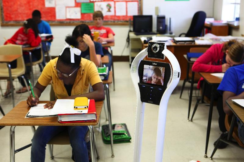 Robots could have a big impact on the school experience of chronically ill kids