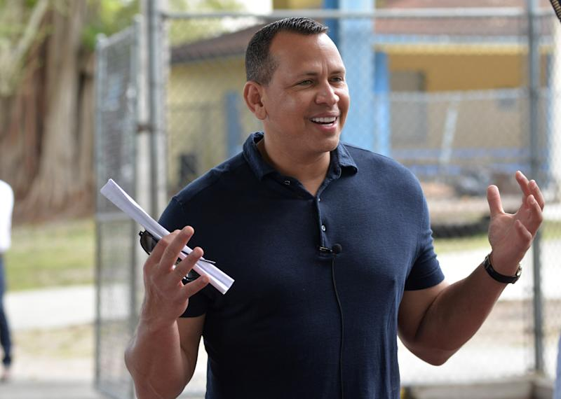 Alex Rodriguez is rumored to be interested in buying the Mets. Yes, that Alex Rodriguez. (Manny Hernandez/Getty Images)