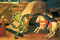 Saint George and the Dragon by Paolo Uccello (Creative Commons)