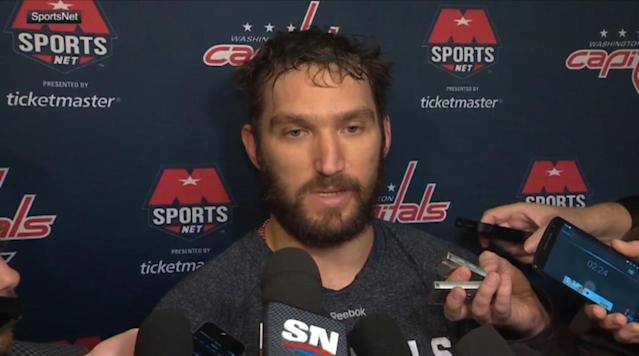 Alex Ovechkin says he'll play in the Olympics despite NHL's stance