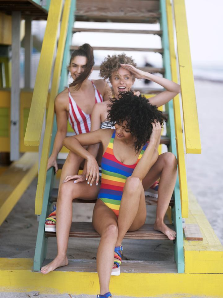"<p>Maybe there was a time when one-piece swimsuits were seen as dowdy or matronly...but, honestly, we can't remember it. One-pieces are essentially the <a href=""https://www.marieclaire.com/fashion/news/g4479/best-bikinis/"" target=""_blank"">bikini's more flattering counterpart</a> (seriously, they somehow look good on <em>everyone</em>). After seeing the latest trendy cutouts, graphic patterns, and strappy details, you'll forget why you ever wanted a two-piece in the first place. Take a look at the best one-pieces ahead of your tropical getaway-and if you're not going anywhere? Invest in one now, and have something to look forward to for summer.<br></p>"