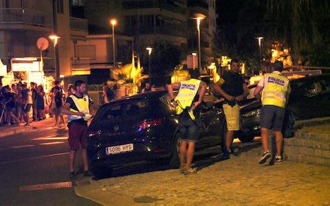 <span>Five suspects were killed in Cambrils</span> <span>Credit: EPA </span>