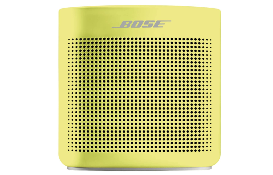 Bose SoundLink Color II - Bluetooth speaker, Color Amarillo. Foto: amazon.com.mx