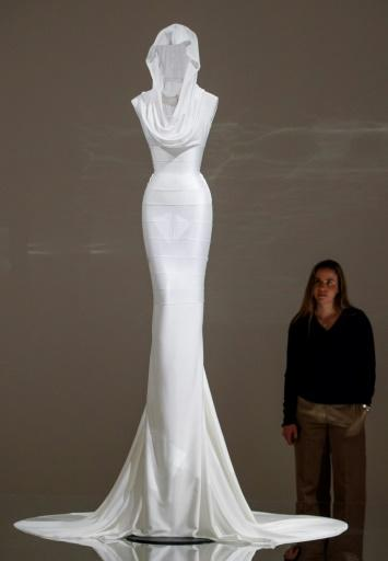 """""""Azzedine Alaia:�The Couturier"""" -- which runs until October 7 -- exhibits 60 garments chosen by Alaia before he died in November 2017"""