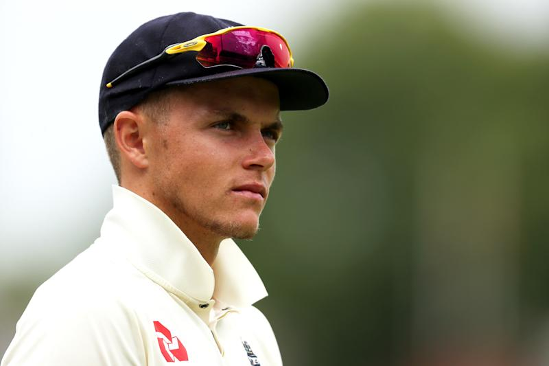England's Sam Curran during day three of the Specsavers Test Series match at Lord's, London. (Photo by Bradley Collyer/PA Images via Getty Images)