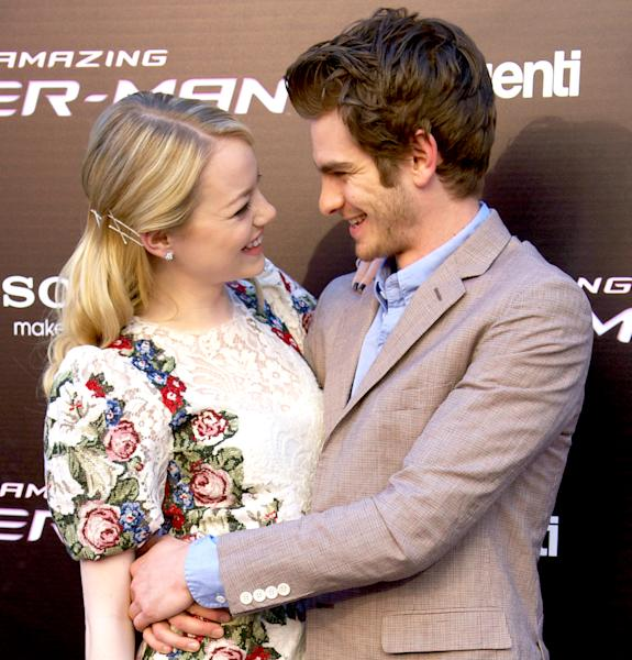 Emma Stone talked about her ex Andrew Garfield in Vogue's October 2016 issue — find out what she said