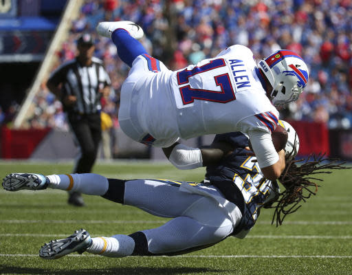 Gordon scores 3 TDs in Chargers' 31-20 win over Bills
